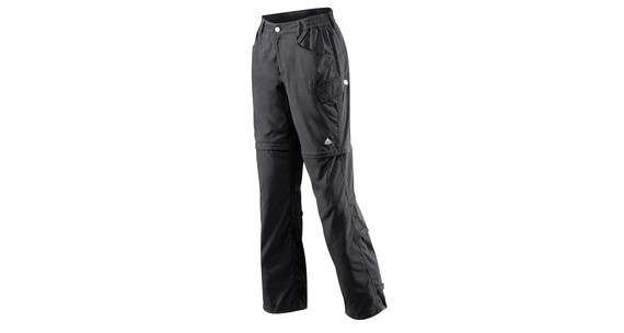 Vaude Women's Lakeside Zip Off Pants black